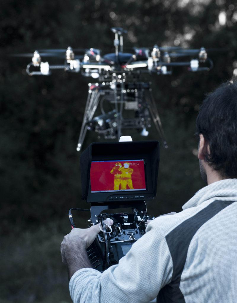 Serveis tècnics amb dron: inspeccions línies elèctriques