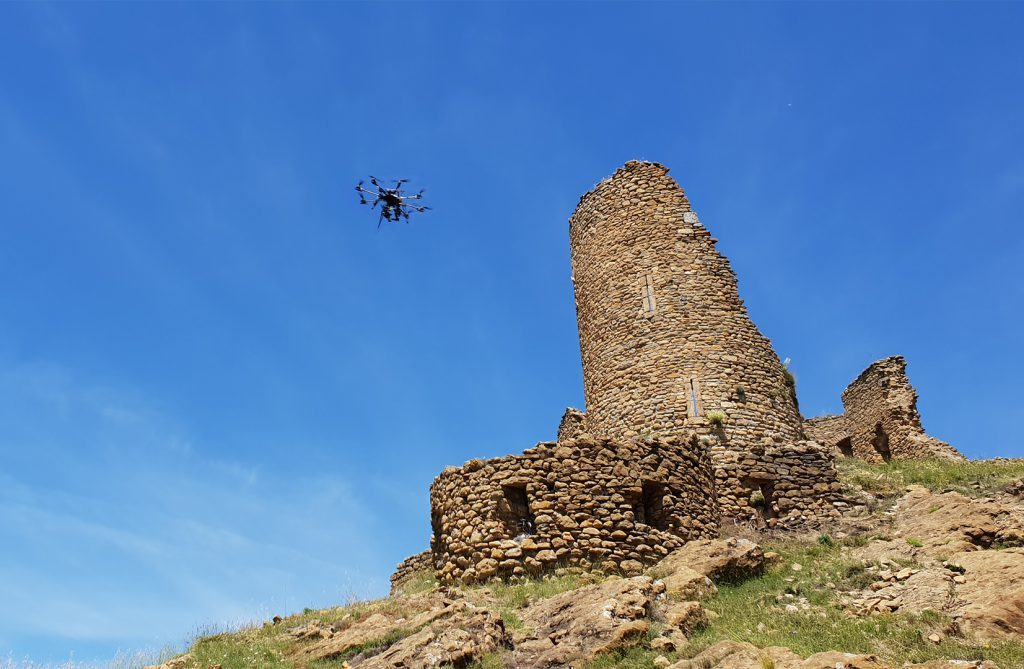 Audiovisuales con dron