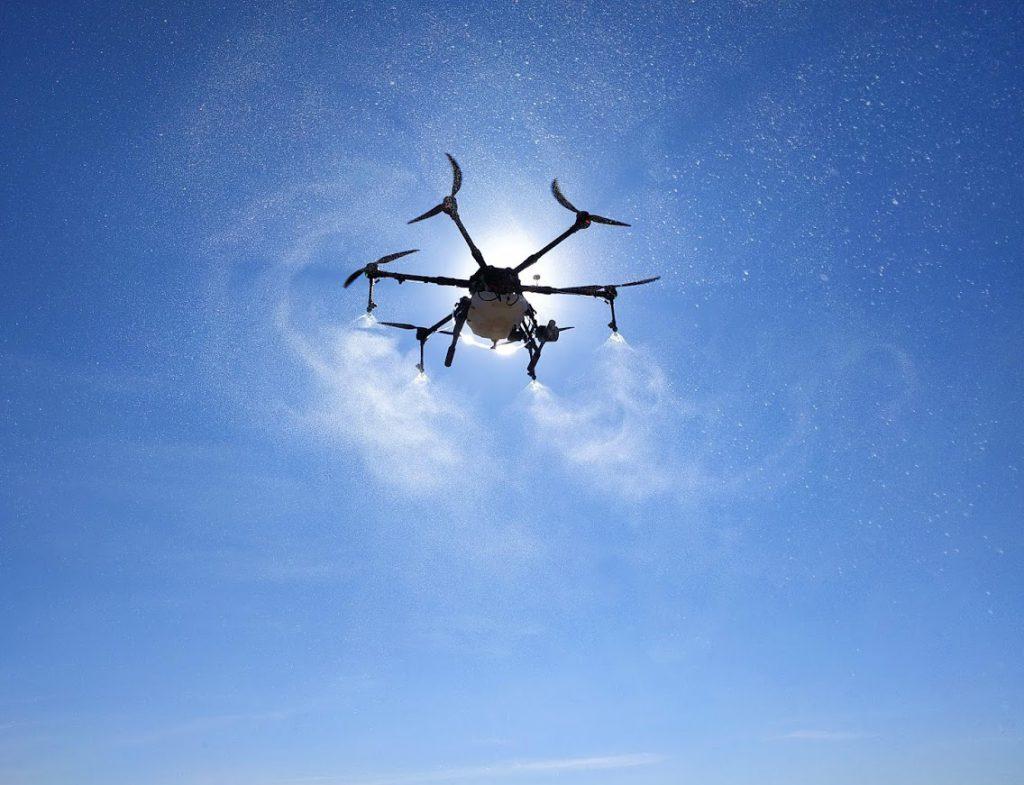 agricultura de precisió amb dron - tractaments agrícoles