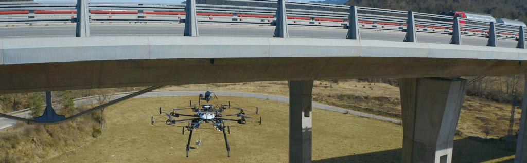 Inspeccions industrials amb dron - viaductes
