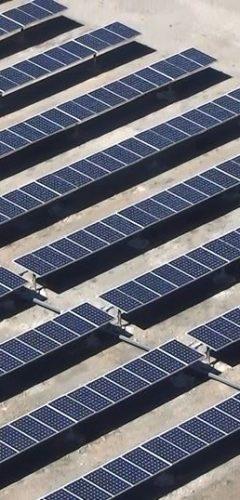 Inspeccions industrials amb dron - plaques fotovoltaiques