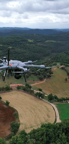 Seguretat amb dron - treballs de rescat