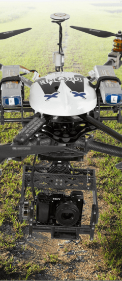 Servicios técnicos con dron