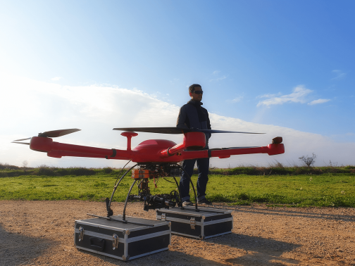 Dron per a serveis tècnics