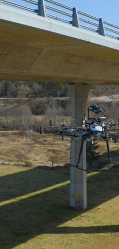 Inspeccions industrials amb dron - inspecció viaductes
